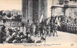 EVENEMENT Célébration MILITARIA : FETES DE LA VICTOIRE ( 14 Juillet 1919 ) La Délégation TCHECOSLOVAQUE Czechs - CPA - Autres