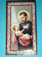 N°123 - S.GAETANO Da THIENE - Santino Cornice ORO - F.lli Bonella - FB - Serie 734-I.G. - Images Religieuses