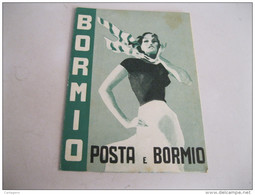 POSTE E BORMIO   Depliant Del 1935 - Dépliants Turistici