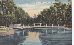 Georgia Albany Radium River At Radium Springs - Albany