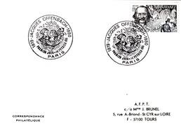 FRANCE- CARTE OBLITERATION RONDE JACQUES OFFENBACH 1819-1880 - PREMIER JOUR 14 FEVRIER 1981 PARIS - Frankreich