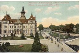 68 MULHOUSE - La Poste Et Canal Du Rhône Au Rhin - Mulhouse