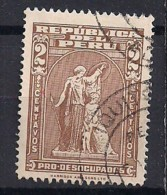 YT N° 455 - Oblitéré - Au Profit Des Chomeurs - Peru