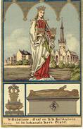 H. GODELIEVE - Neo-gotisch Prentje / Image Néo-gothique - GISTEL - Edit. E.L. - Andachtsbilder