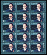 RUSSIA 2017 Sheet MNH ** VF ZABABAKHIN SCIENCE SCIENTIST NUCLEAR ATOM ATOMIQUE PHYSICS PHYSIQUE ENERGY ENERGIE 2192
