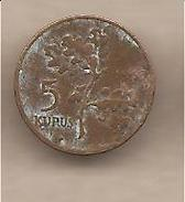 Turchia - Moneta Circolata Da 5 Kurus - 1959 - Turchia