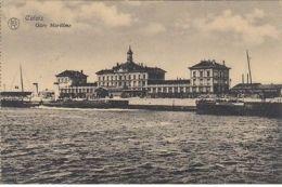 (1258) AK Calais, Frankr., Seehafen, Feldpost 1916 - Francia