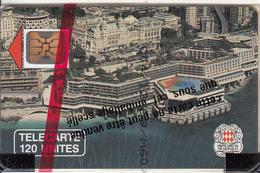 MONACO - Palais Des Congres(120 Unites), Chip SC4, CN : 108113, Tirage %10200, 03/90, Mint