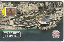 MONACO - Palais Des Congres(50 Unites), Chip SC4, CN : 108118, Tirage %10200, 03/90, Used