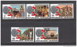 Burundi 1977 15th Anniversary Of Independence MNH (T1742) - Burundi