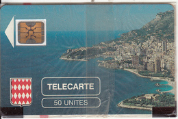 MONACO - Rocher De Monaco, First Issue 50 Unites, Chip SC4, CN : 103773, Tirage %10200, 08/89, Mint