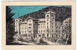 CASA DI CURA DI RAMIOLA - APPENNINO PARMENSE - PARMA - 1927 - Vedi Retro - Formato Piccolo - Parma