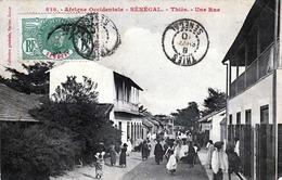 Afrique Occidentale - SENEGAL - Thies Une Rue Gel.1908, Sondermarke - Senegal