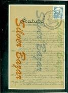 SINDACATI-CAMERA DEL LAVORO- LODI--ANNULLO SPECIALE- MARCOFILIA1° STATUTO DELLA CAMERA DEL LAVORO 1895 - Sindacati
