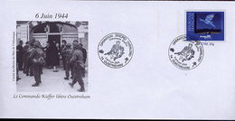 PAP Debarquement Liberation WW2 Cachet Temporaire Ouistreham Calvados - 5 PAP Achetés, 1 Offert - 5 Bought, 1 Free - 2. Weltkrieg