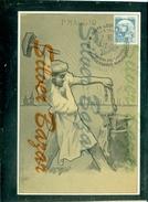 SINDACATI-CAMERA DEL LAVORO- LODI--ANNULLO SPECIALE- MARCOFILIA-1° MAGGIO 1906 - Sindacati