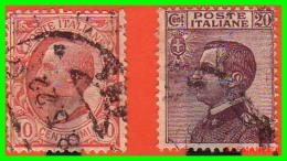 ITALIA   -  SELLOS  AÑO  1906-1908 - 1900-44 Victor Emmanuel III