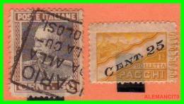ITALIA   -  SELLOS  AÑO  -1927 - 1900-44 Victor Emmanuel III