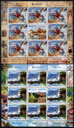 Serbia 2012 Europa CEPT, Visit, Besuche, Monastery, Frescos, Nature, Mountains, Skiing, Mini Sheet MNH - 2012