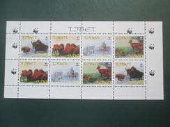 TIBET : ANIMAUX - Briefmarken