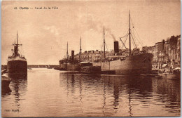 34 CETTE - Canal De La Ville - Sete (Cette)