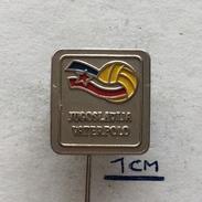 Badge (Pin) ZN004318 - Water Polo (Waterpolo) Yugoslavia Federation / Association / Union (VSJ) - Water Polo
