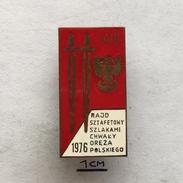 Badge (Pin) ZN004327 - Military (Army) Race Poland 1976 - Militaria
