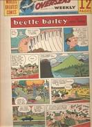 WORLD'S GREATEST COMICS THE OVERSEAS WEEKLY Du 19/12/1965 Beetle Bailey By Mort Walker - Livres, BD, Revues