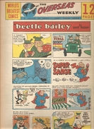 WORLD'S GREATEST COMICS THE OVERSEAS WEEKLY Du 01/01/1966 Beetle Bailey By Mort Walker - Livres, BD, Revues