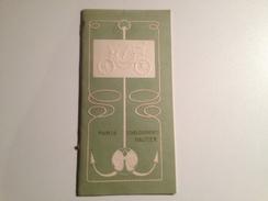Etablissement, HAUTIER, Voiture,voiturettes, Moteurs,canots Vers ,1890/1900, Catalogue De Vente - Publicidad