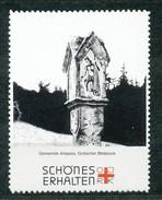 Österreich - Vignette .    Gemeinde Ampass,Gotischer Bildstock - Vignetten (Erinnophilie)