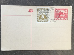 B18 Tschechoslowakei Czechoslovakia Tchécoslovaquie Ganzsache Stationery Entier Postal P 7 Kunnersdorf A.d. Dux