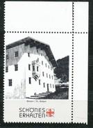 Österreich - Vignette .    Brixen I. Th.,Widum - Vignetten (Erinnophilie)