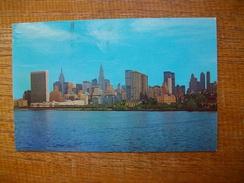 "états-unis , New York City , Midtown Manhattan Skyline """" Beau Timbre """" - Églises"
