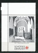 Österreich - Vignette .    Hall I. T., Burg Hasegg, Gotische Halle - Vignetten (Erinnophilie)