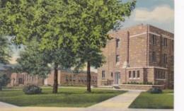 Wyoming Laramie Knight Hall University Of Wyoming 1957 Curteich - Laramie