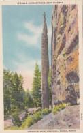 Wyoming Yellowstone Chimney Rock Cody Highway Curteich - Yellowstone