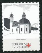 Österreich - Vignette .    Seefeld,Seekirchl - Vignetten (Erinnophilie)