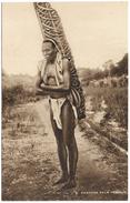 Carrying Palm Kernels - Sierra Leone Native With Pam Kernels On Back - Raphael Tuck - Unused - Sierra Leone