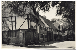 Chiddingstone Village  - Real Photo - E A Sweetman & Son - C1960 - England