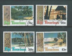 Fiji 1980 Tourism Set 4 FU - Fiji (1970-...)
