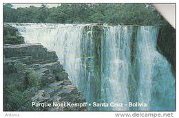 BOLIVIA(Urmet) - Watefall, Noel Kempff National Park/Santa Cruz, Exp.date 31/12/99, Used