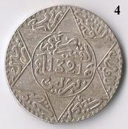 Maroc , Marokko , Morocco 1/4 Riyal Berlin 1321 AH Silber Münze / 4 - Maroc