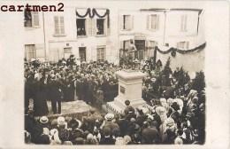 CARTE PHOTO : LA FERTE-MILLON INAUGURATION DU MONUMENT JEAN RACINE 02 AISNE - Unclassified
