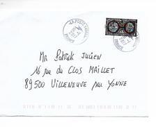 FRANCE 2016 / Vitraux Cathédrale SAINT-PIERRE De BEAUVAIS Sur Enveloppe Voyagé En Janvier 2017 / Cachet Rond. - Oblitérés