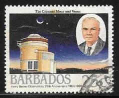 Barbados, Scott # 735 Used Observatory, 1988 - Barbados (1966-...)