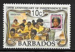 Barbados, Scott # 812 Used Independence Anniv., 1991 - Barbados (1966-...)