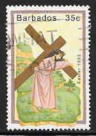 Barbados, Scott # 818 Used Easter, 1992 - Barbados (1966-...)