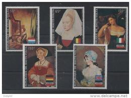 HAUTE VOLTA  A 145/149** SUR DES TABLEAUX FEMININS POUR EUROPAFRIQUE - Haute-Volta (1958-1984)