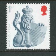 GRANDE-BRETAGNE - 2002 - Yvert  2334 - NEUF ** Luxe MNH - World Cup Football 2002 - 1952-.... (Elizabeth II)